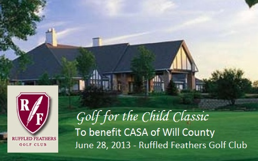 "The first annual ""Golf for the Child Classic"" to benefit CASA of Will County"